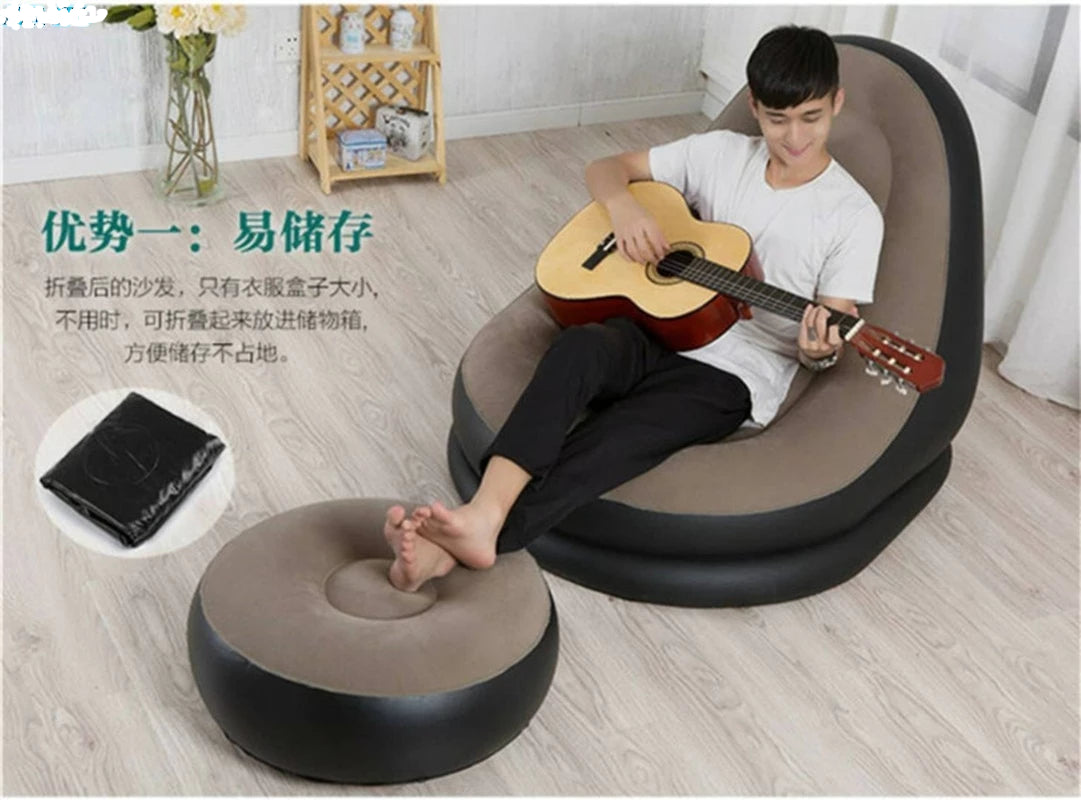 Home Best  Sofa with Foot Rest Cushion Stool