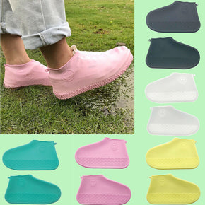 Home Best Reusable Shoe Covers Pair of Waterproof Silicone Rain Shoe