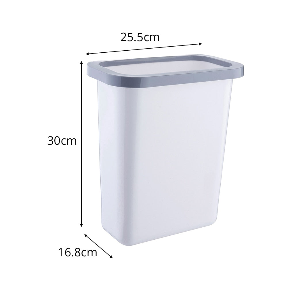 Home Best Plastic  Kitchen Hanging Trash Bin