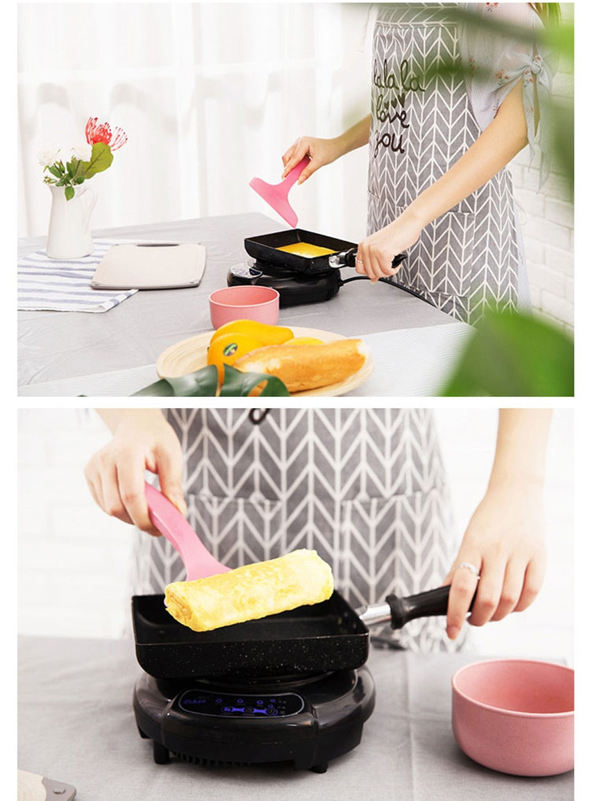 Home Best  Pancake Egg Square Frying  Pot
