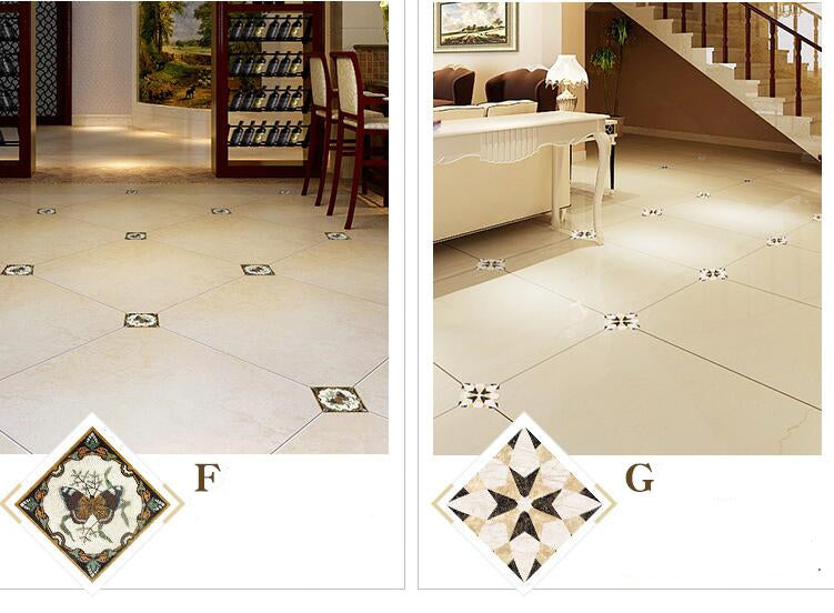 Home Best 21pcs/set  Floor Stickers