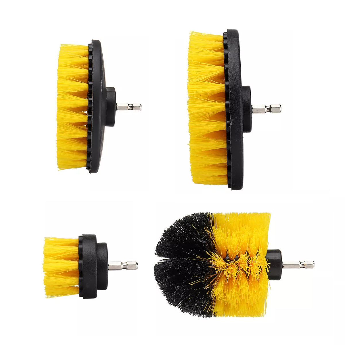 12Pcs Electric Drill Cleaning Brush