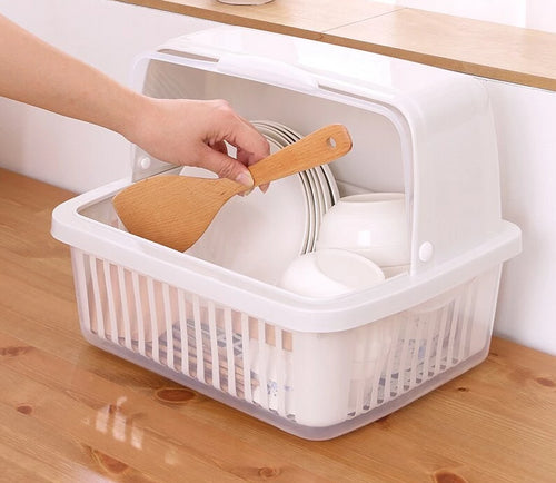 Home Best   Plate Cup Utensil Storage Box
