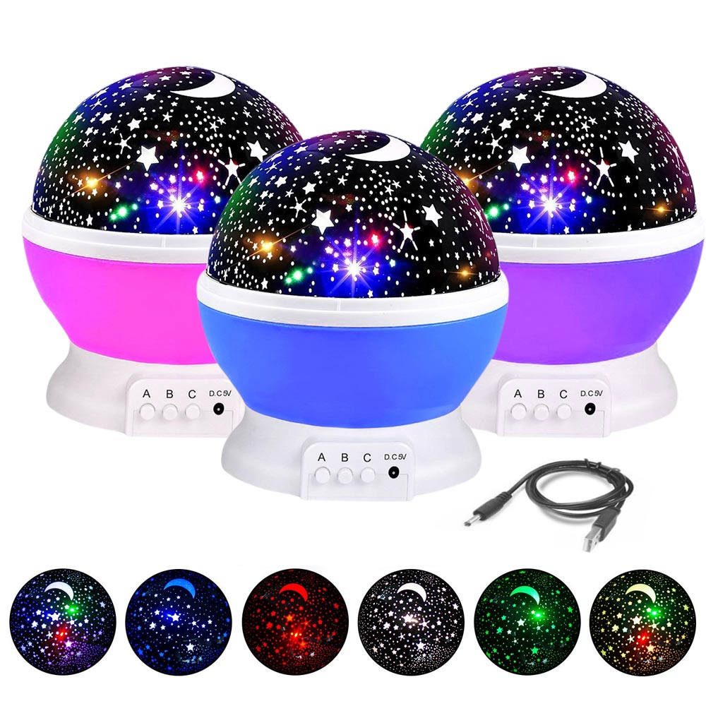 Home Best  Moon Sky Romantic Night Light