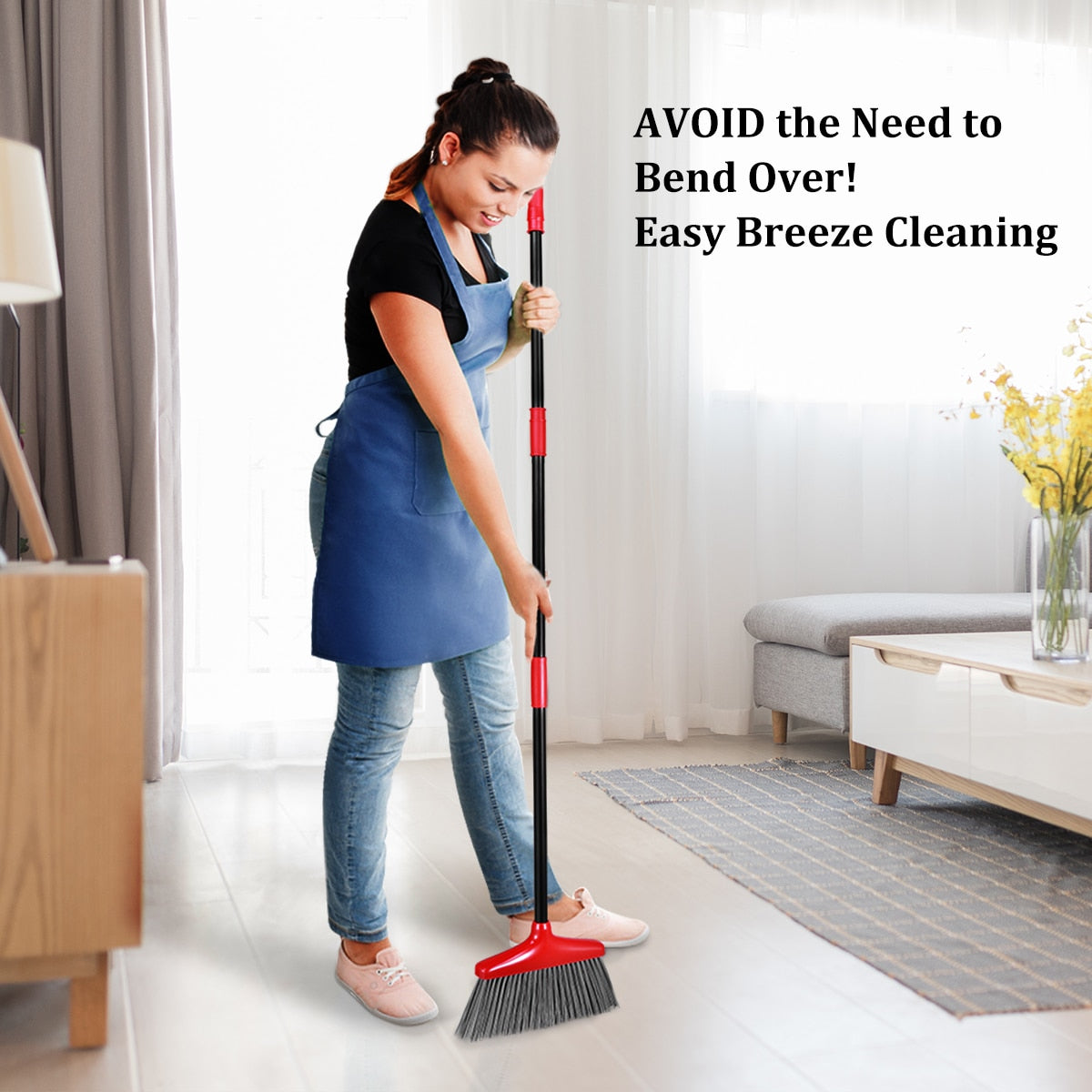 Home Best Broom and Dustpan Set