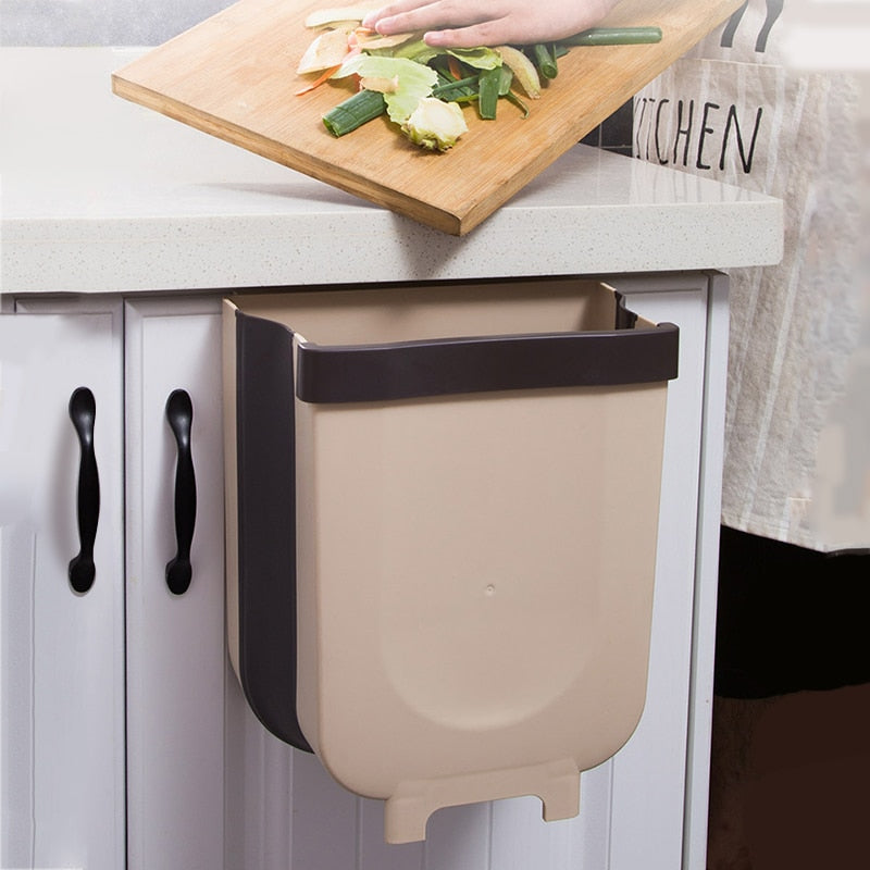 Home Best Trash Can Kitchen Wall Mounted