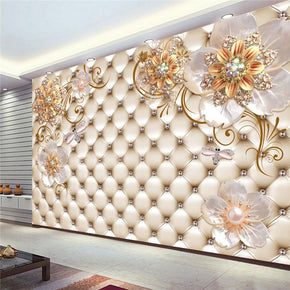 Home Best  Wallpaper  Flower Decor Wall
