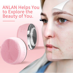 Facial Cleansing Brush with Light