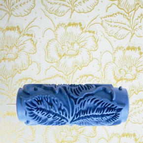 Home Best 5 iches flower pattern Roller