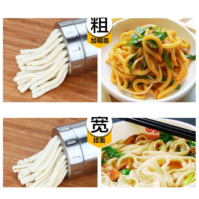 Home Best Stainless Steel Practical Handy Manual Kitchen Pasta Noodle Maker