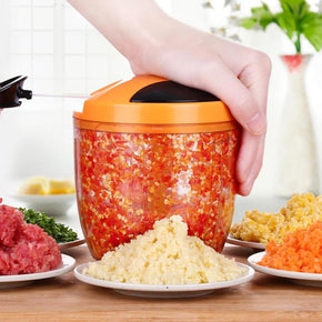Home Best  Fruit Vegetable Chopper Hand Pull Food Cutter