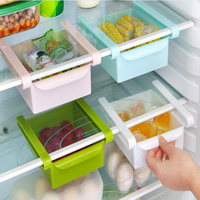 Home Best Slide Kitchen Fridge Freezer Space Saver Organizer Storage