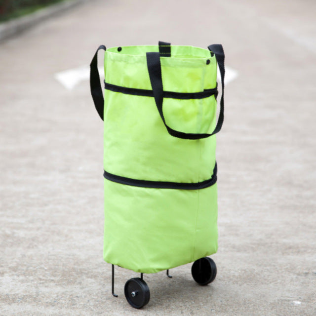 Home Best Foldable Bag Reusable Shopping Organizers Bag Trolley Bag