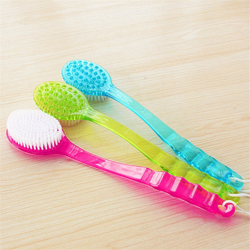 Home Best Bath Brush Back Body Bath Shower Sponge Scrubber Brushes