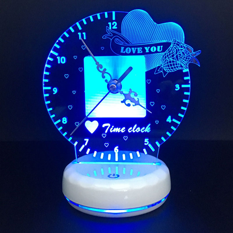 Home Best Time Clock Night Light
