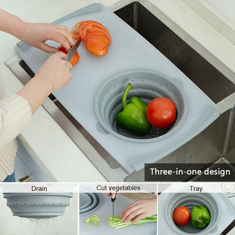 Home Best 3 In 1 Multi-Function Food Tray Sink