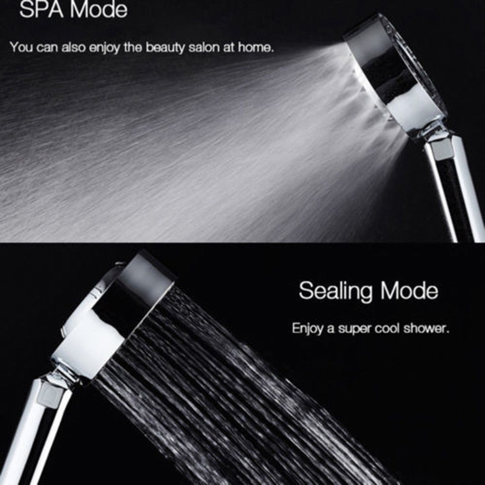 Home Best Bathroom shower head hand-held double-sided adjustable