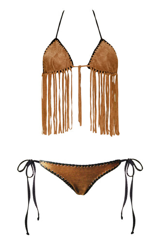 The Arizona Leather Bikini