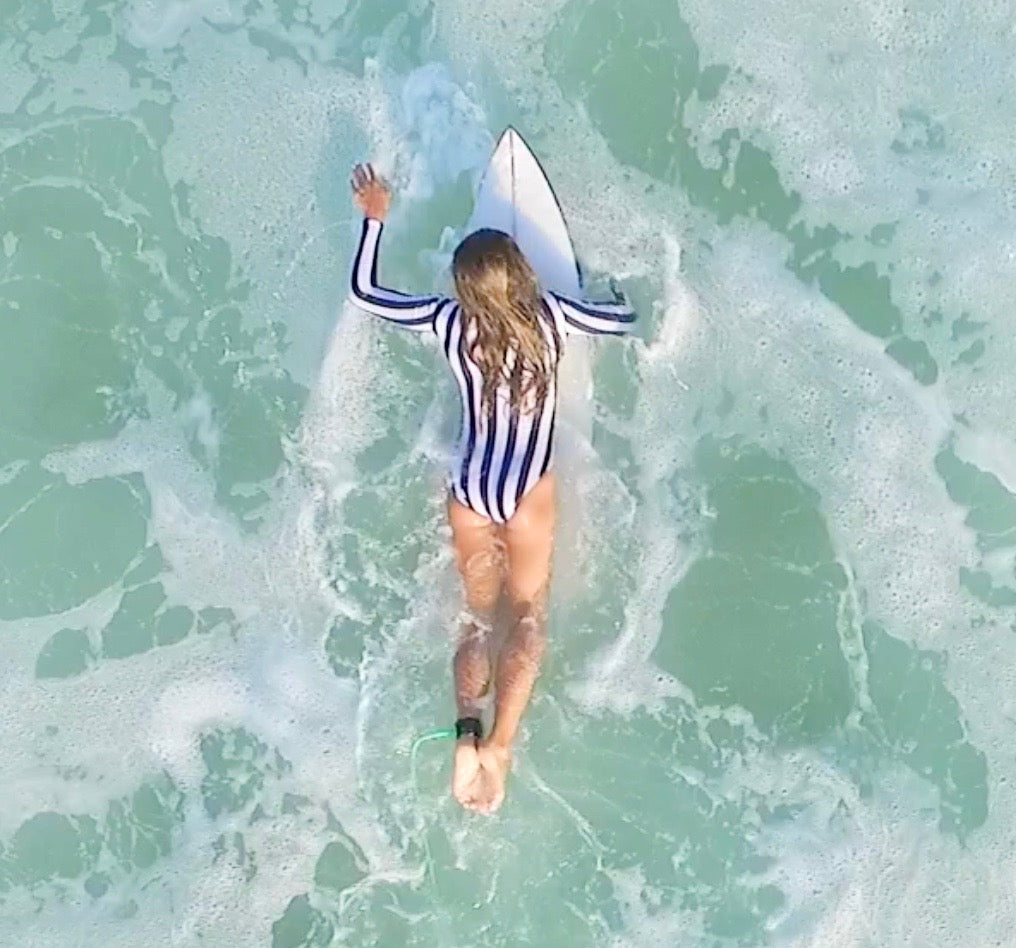 Stoked striped suit