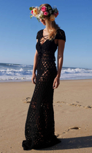 Load image into Gallery viewer, Black Pearl dress