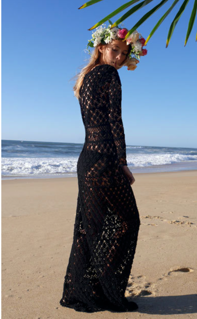 Lani Crochet Dress