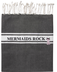 Mermaids rock towel