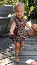 Load image into Gallery viewer, Baby Leo Lycra dress