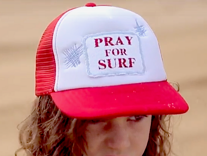Pray for Surf Cap