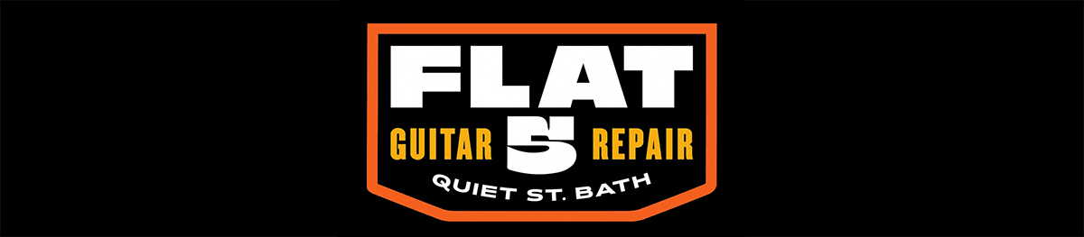 Flat 5 Guitar Repair Services at Guitarbitz Music Store in Bath