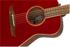 Fender Malibu Classic Electro Acoustic with Gig Bag - Hot Rod Red Metallic