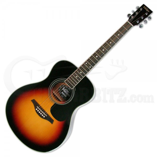 V300 Acoustic Folk Guitar - Sunburst