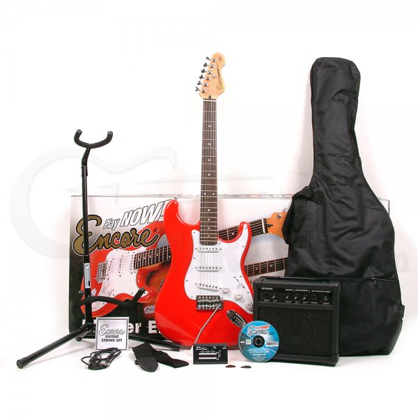 E6 Electric Guitar Package - Red