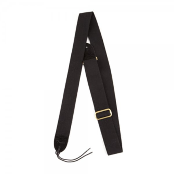 Canvas Guitar Strap Black