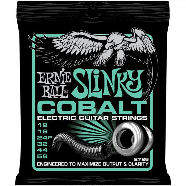 Cobalt Not Even Slinky Electric Guitar Strings - 12-56