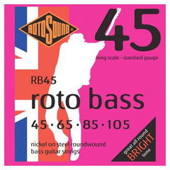 Rotosound RB45 Roto 45 Bass Guitar Strings - Standard Gauge - 45-105