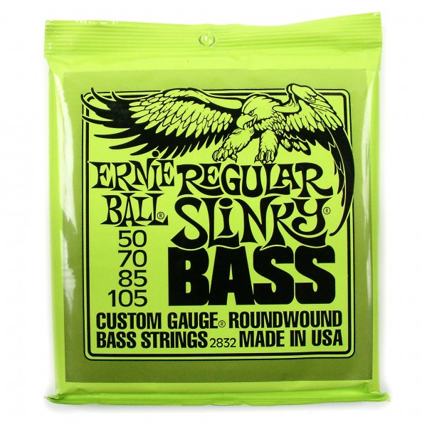 Regular Slinky Bass Guitar Strings 50-105