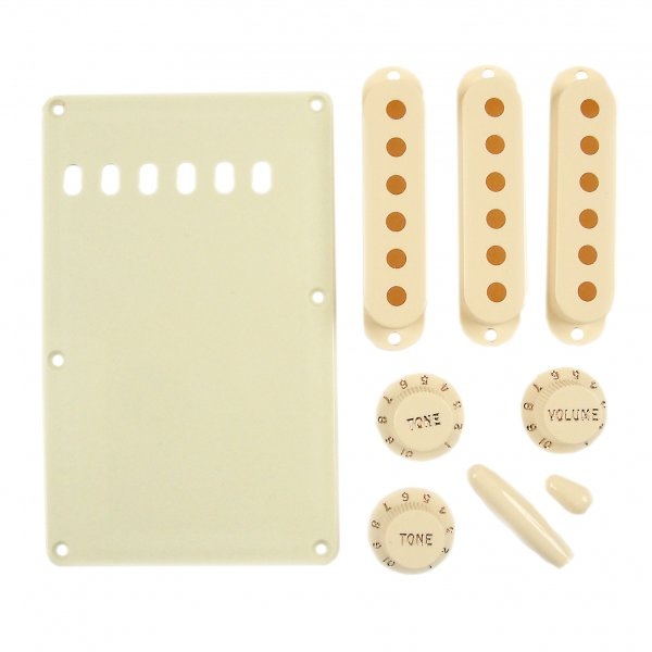 Fender Stratocaster Accessory Kit - Aged White (0991368000)
