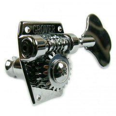 Grover Vintage Bass Machine Heads - 2 a side - Chrome