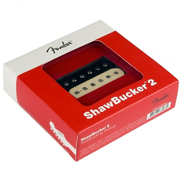 Shawbucker 2 Humbucker Pickup - Zebra - Bridge
