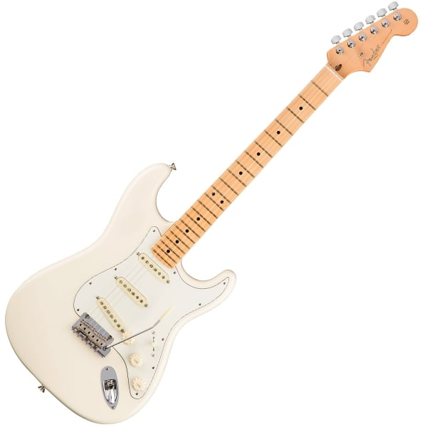 American Professional Stratocaster - Olympic White - Maple Fingerboard