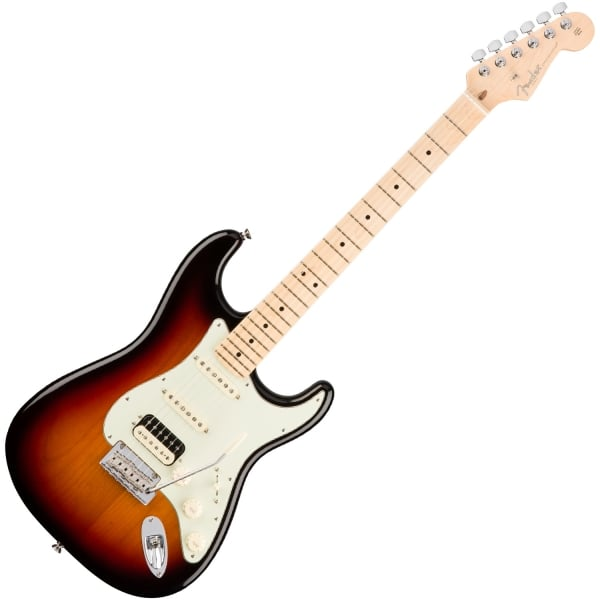 American Professional Stratocaster ShawBucker HSS - 3 Colour Sunburst - Maple Fingerboard