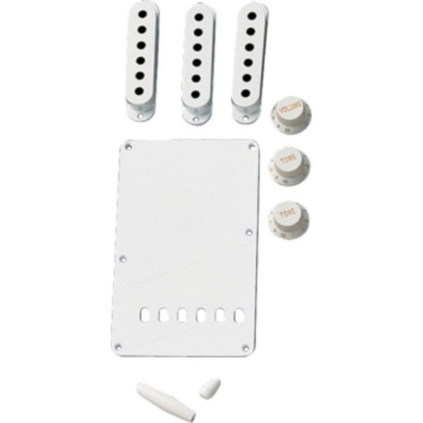 Stratocaster Vintage-Style Accessory Kit - White