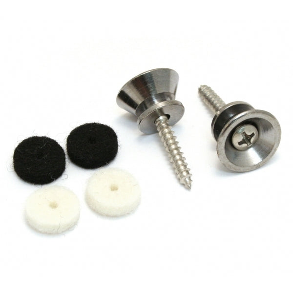 standard strap buttons chrome