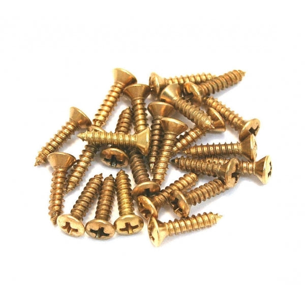 Genuine Pickguard Scratchplate Screws - 24 Pack - Gold
