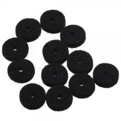 Fender Genuine Black Felt Strap Button Washers 11 pack