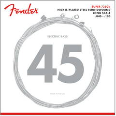 Fender 7250ML Bass Guitar Strings Nickel Plated - Medium Light - 45-100