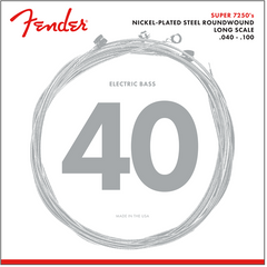 Fender 7250L Bass Guitar Strings Light 40-100