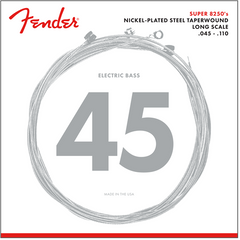 Fender Super 8250M Bass Guitar Strings - Medium - 45-110