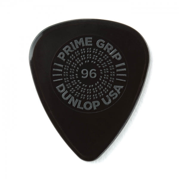 Prime Grip Delrin 500 Plectrum Players Pack Black - 12 Pack - .96