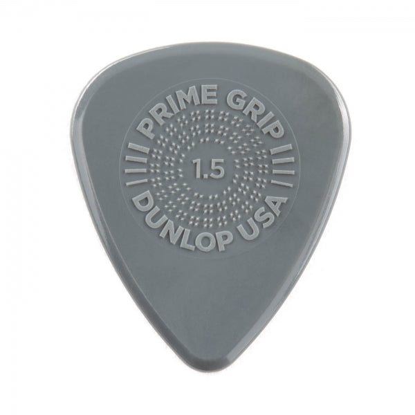Prime Grip Delrin 500 Plectrum Players Pack Grey - 12 Pack - 1.5mm